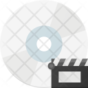 Movie File In Cd Icon