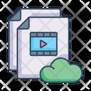 Movie Files Ott Media Streaming Icon