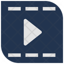 Movie Player Play Movie Frame Icon