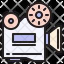 Movie Projector Video Camera Video Projector Icon