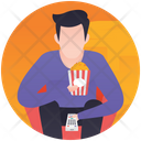 Movie Snacks Icon