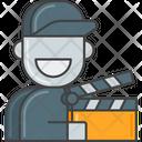 Mmovie Staff Movie Staff Action Icon