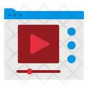 Video Website Play Icon