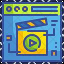 Movie Website Video Website Video Icon