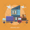 Moving Out Move Icon