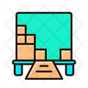 Moving Delivery Shipping Icon