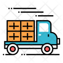 Moving Home Parcel Icon