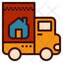 Home Moving Truck Icon