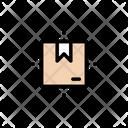 Parcel Delivery Box Icon