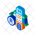 Moving Robot Outlie Icon