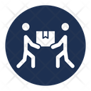 Moving Stuff Moving Shifting Packages Icon