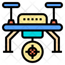 Moving Target Drone Ai Icon