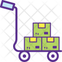 Pushcart Platform Truck Icon