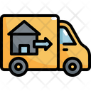 Moving Truck Real Icon