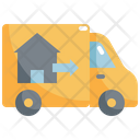 Moving Truck House Icon