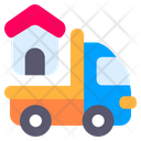 Moving Truck Truck House Icon