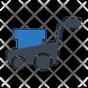 Mower Grass Machine Icon