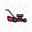 Mower Grass Agriculture Icon