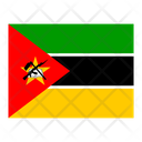 Mozambique Flag Flags Icon