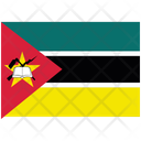 Flag Country Mozambique Icon