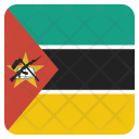 Mozambique National Country Icon