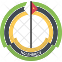 Mozambique Country Flag Icon