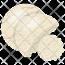 Mozzarella Cheese Icon