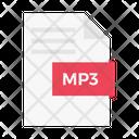 Mp 3 File File Document Icon