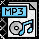 Mp 3 File File Folder Icon