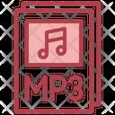 Mp 3 File Mp 3 Music Icon