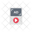 Ad Player Media Icon