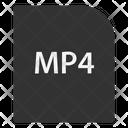 Mp File Extension Icon