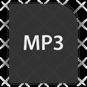 Mp 3 File File Extension Icon