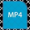 Mp 4 File Extension File Icon