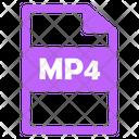Mp 4 File Mp 4 File Icon