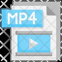 Mp 4 File Icon