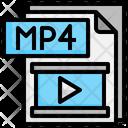 Mp 4 File File Folder Icon