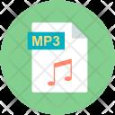 Mp Music File Icon