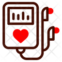 Mp Player Music Heart Icon
