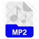 Mp2 file Icon