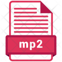 Mp2 file format Icon