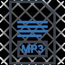 Mp 3 Document File Icon