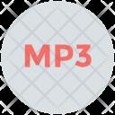 Mp 3 Audio Cd Icon
