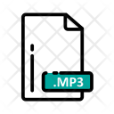 Mp 3 Document Extension Icon