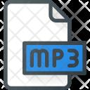 Mp 3 File Audio Icon