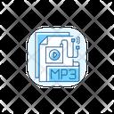 MP 3 Audio File Icon
