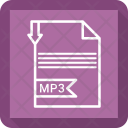Mp3 extension Icon