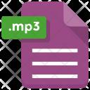Mp 3 File Sheet Icon