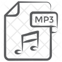Mp 3 File File Extension File Format Icon