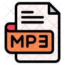Mp File Type File Format Icon